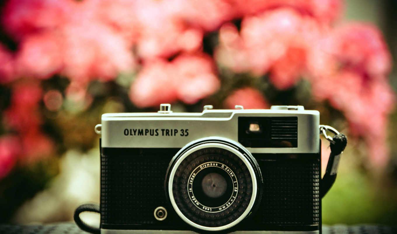 фотоаппарат, красивые, объектив, tech, olympus