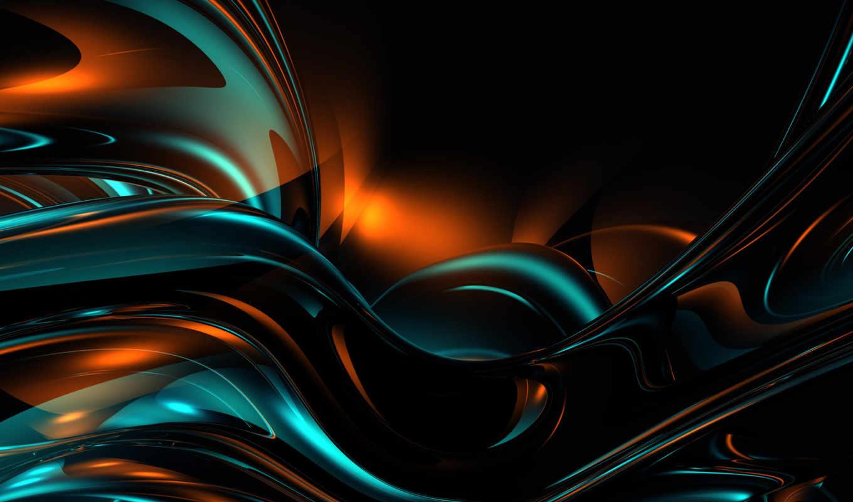 аннотация, потоки, системы, сбоя, абстракции, смотрите, картинка, абстракция,