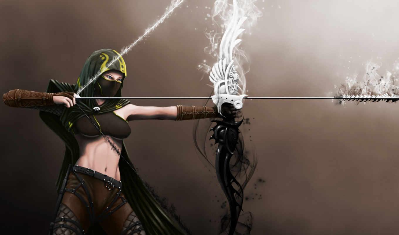 archer, art, archery, save, discover, more, девушка, fantasy, pinterest, see,