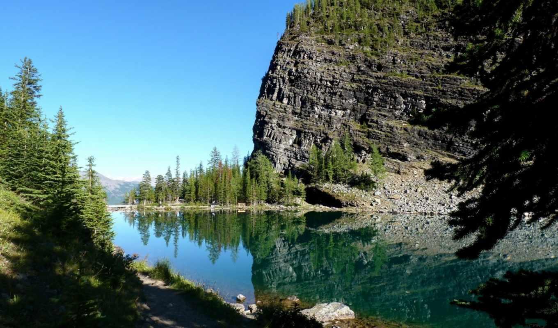 канады, парк, национальный, главный,