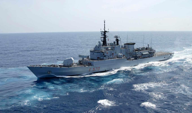 флот, полный, ход, корабль, небо, боевой, волны, military, чистое, maestrale, philippines, favorites, patrol, booster,