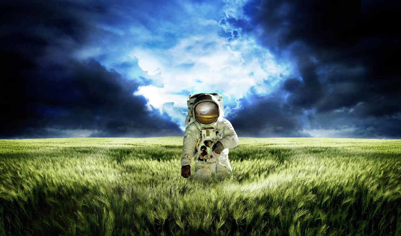 космонавт, поле, масть,