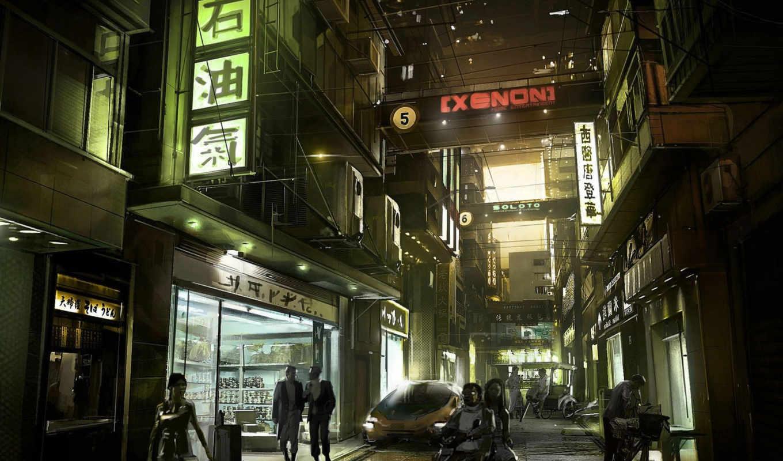 human, фэнтези, revolution, deus, улица, улицы, подборка, красивых,