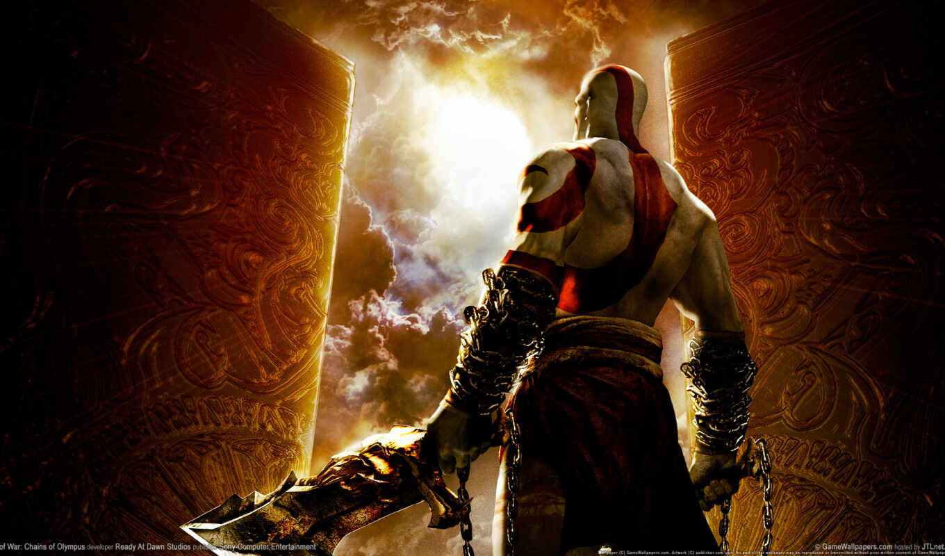 god, war, олимп, chains, kratos, войны, игры, games,