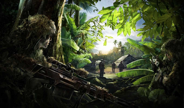снайпер, ghost, воин, cooper, bradley,