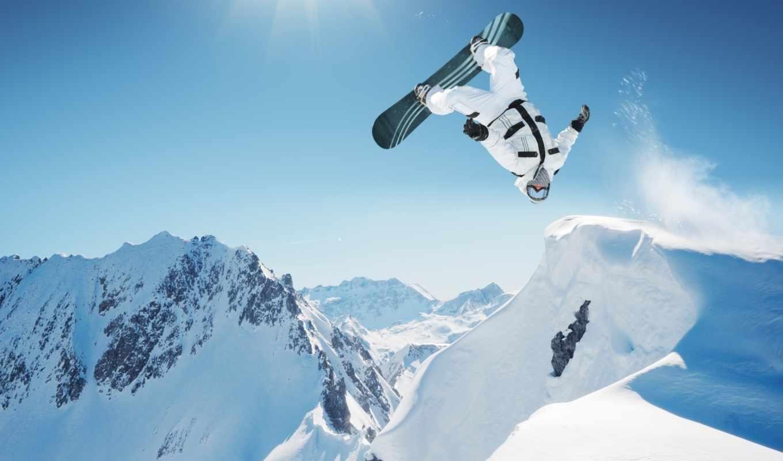 доска, снег, спорт, очки, прыжок, зима, сноуборд, сноуборде, сноубординг, изображении,
