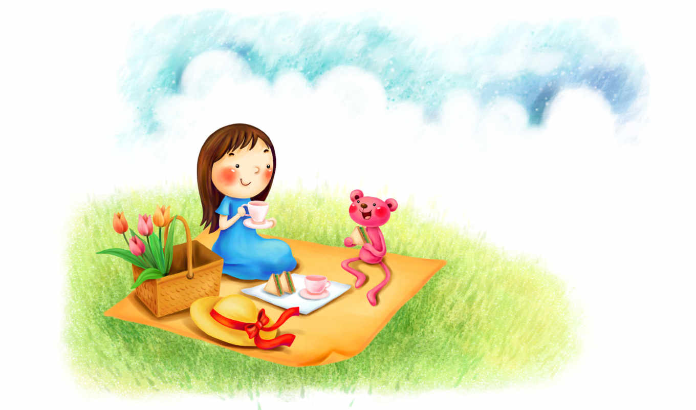 графика рисунок мальчик девочка скачать