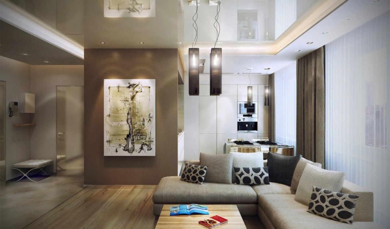 design, интерьер, интерьера, современный, гостиной, квартиры,