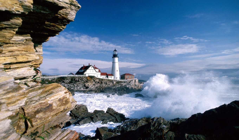 моря, море, дома, house, берег, берегу, скалы, water,