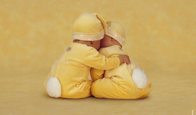 Открытки для малышей двойняшек, день