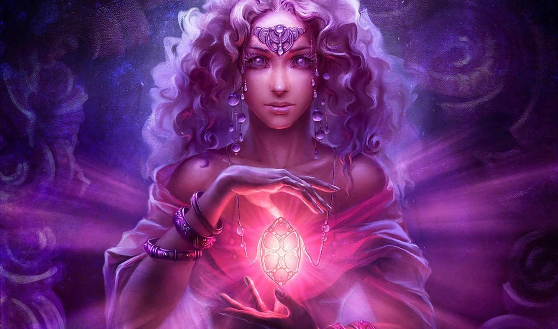 арт, uildrim, кулон, магия, девушка, украшения, браслеты, монитора, качестве, фантастические, картинку,