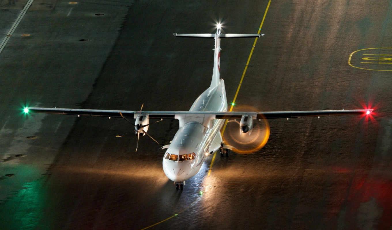 propeller, widescreen, airfield,