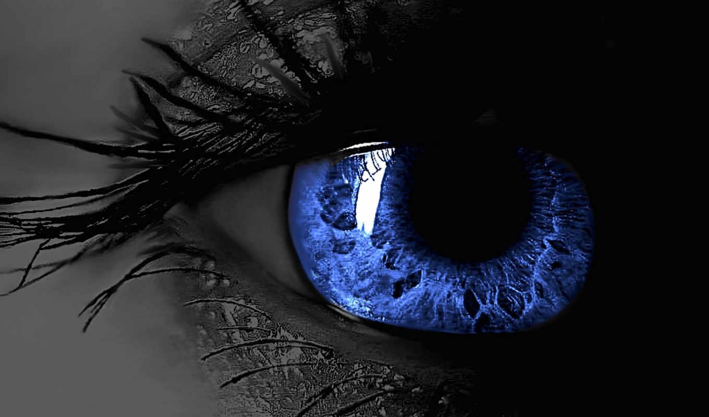 глаз, ресницы, blue,