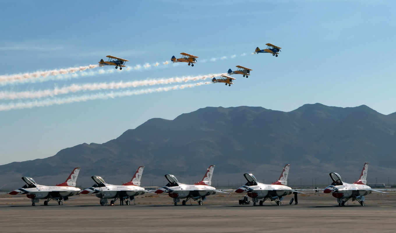 небо, пустыня, горы, новое, world, старое, земля, aircraft, war, perform, era,