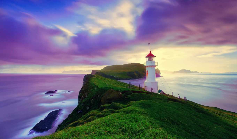 faroe, исландия, islands, архипелаг, море, island, природа, побережье, небо, облака,