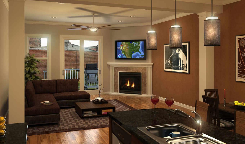 rumah, интерьер, minimalis,