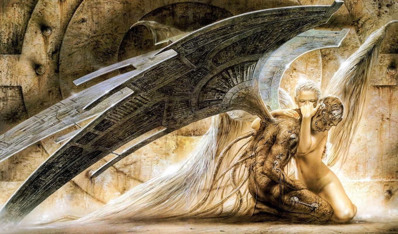 angel, страница, пасть, fantasy,