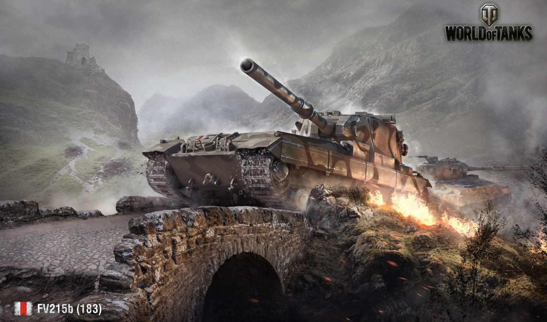 ,world, tanks, wot, fv215b, noc, танк,
