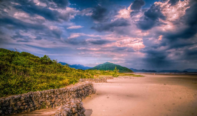 kartinka, priroda, sao, paulo, hdr, пейзаж, небо, oblaka, бразилия,