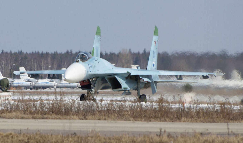 ,су-27, аэродром, дек, free, spitfire,  техника, россия,