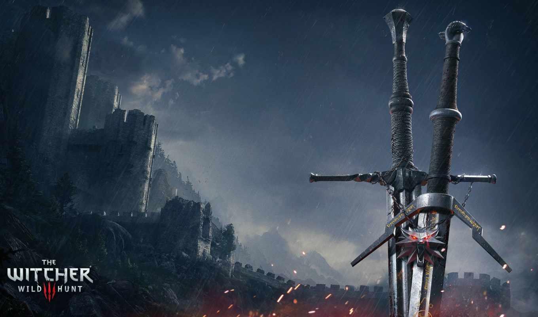 меч, ведьмак, silver, серпантин, ведьмачий, часть,