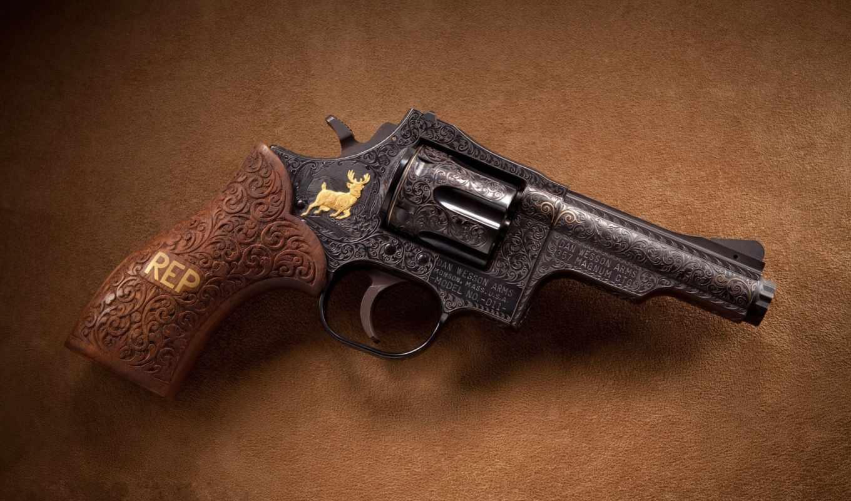magnum, wesson, dan, revolver,