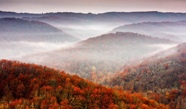 природа, fall, mountains, tree, sky, foliage, картинка, картинку,