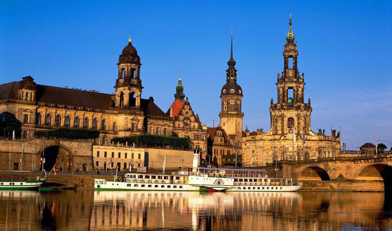 германии, германия, architecture, город, переплетаются, германию,