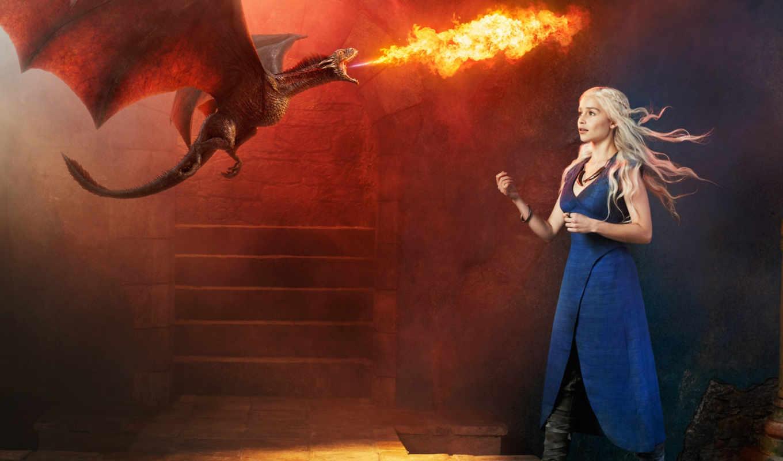 престолов, игра, таргариен, дракон, пламя,