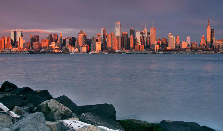 new, york, manhattan, high, free, качество, город,