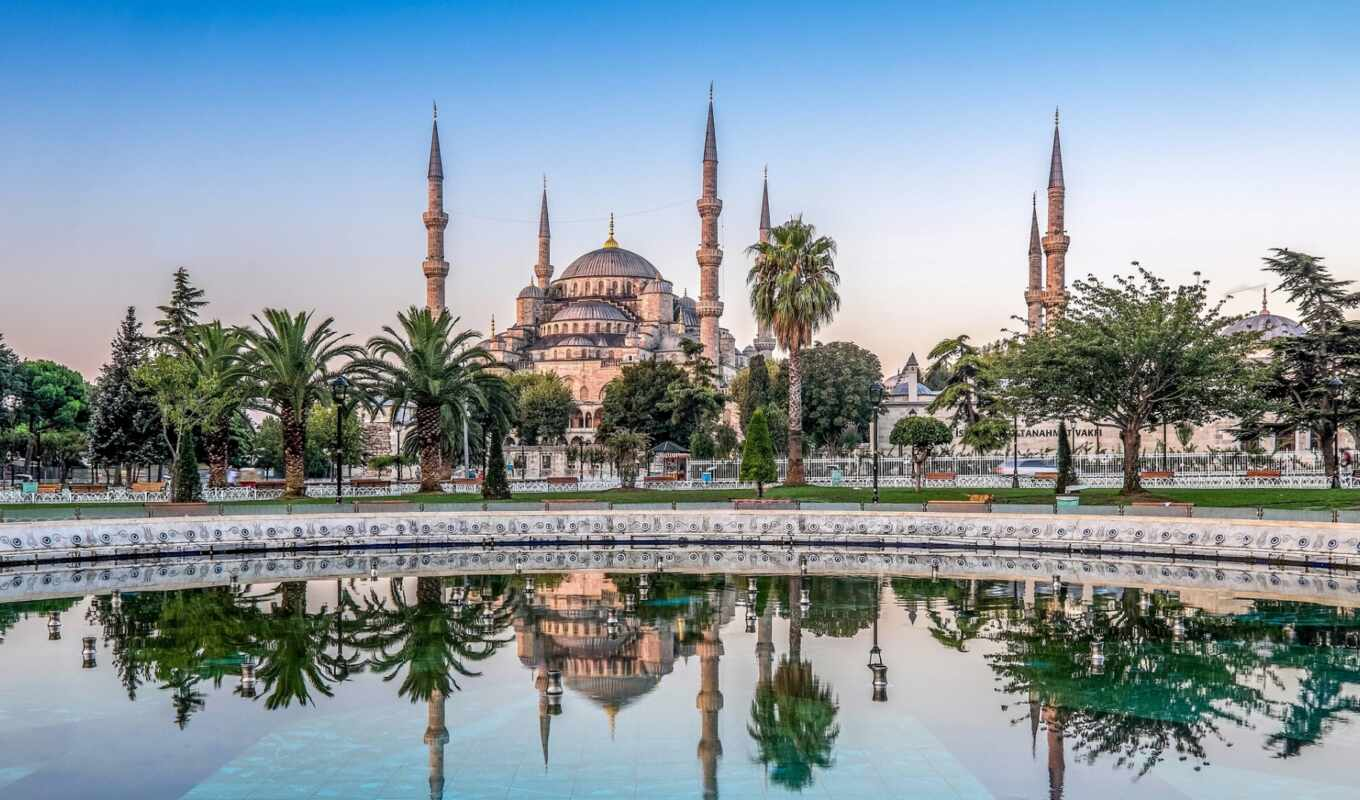 turkey, istanbul, mosque, building,
