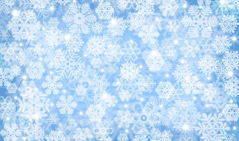 снежинки, снег, зима, смотрите, картинка,