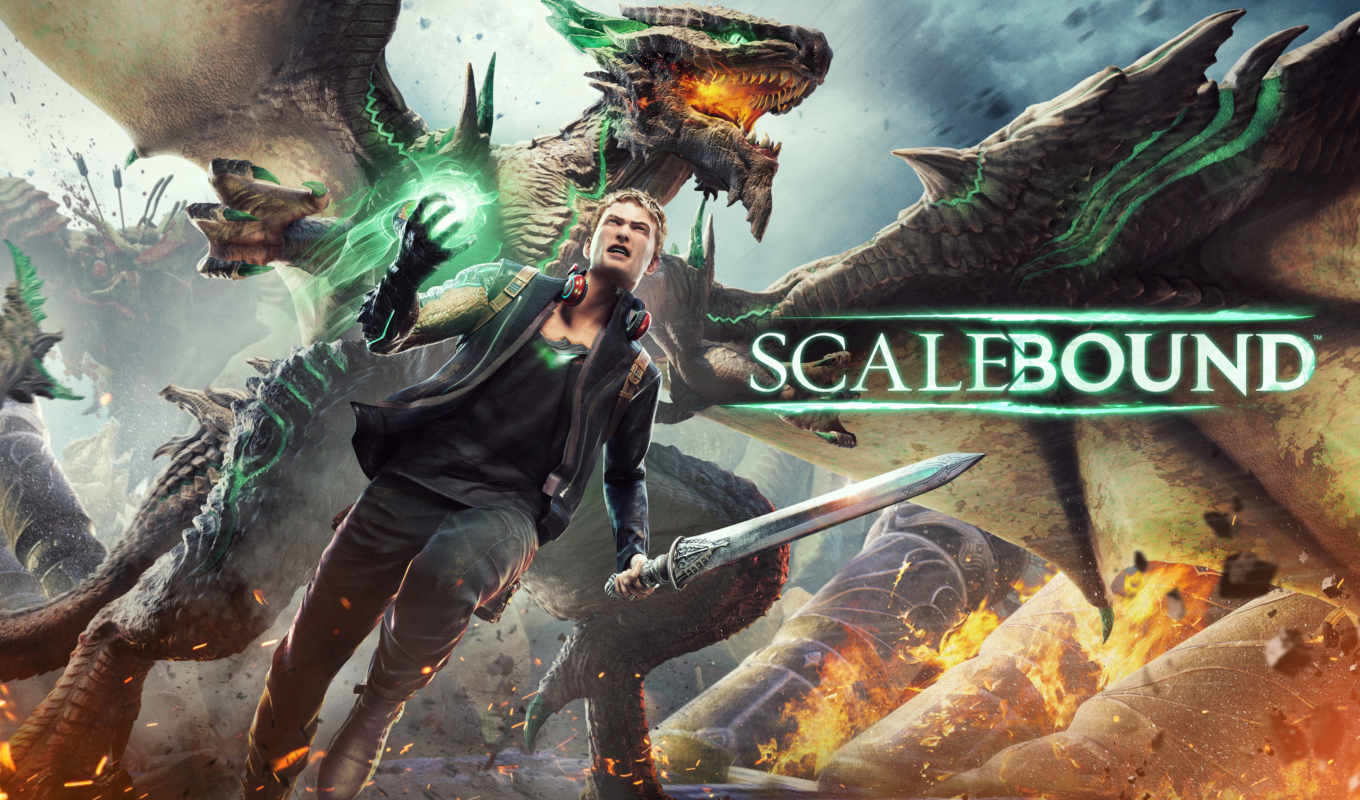 xbox, one, scalebound, games, game, platinum, игры, microsoft, парень,