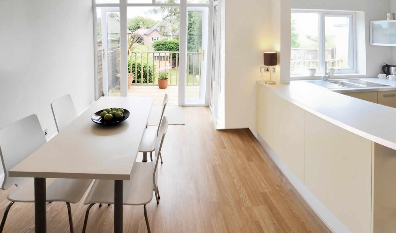 интерьеры, кухни, линолеум, укладка, линолеума, балконом, дизайн,