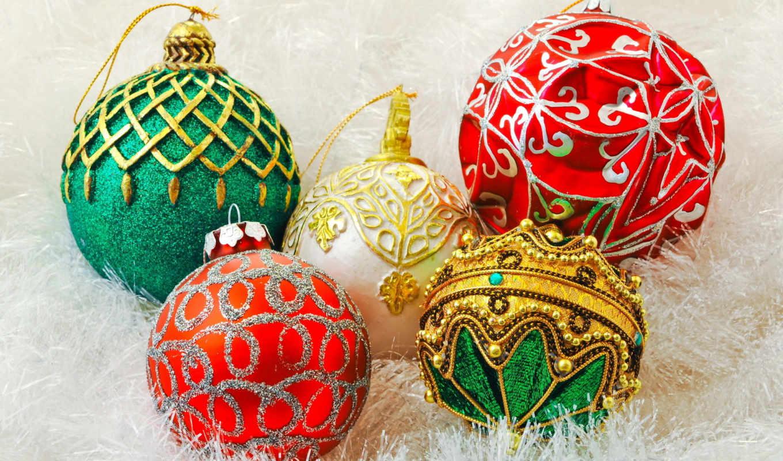 christmas, new, год, stock, шарики, клипарт, новогодние, растровый, clipart,
