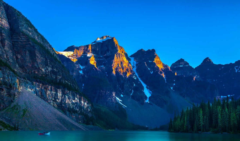 priroda, горы, деревя, les,