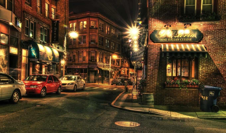 boston, hdr, ночь, ib, олег, подзоров, фотограф,