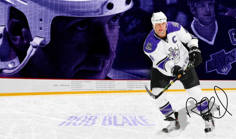 хоккей, blake, rob, kings, angeles, los, спорт, картинка,