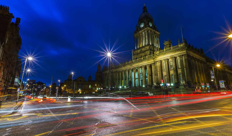 города, категории, мира, tapety, великобритания, дороги, фонари, ночь, телефон, улица,
