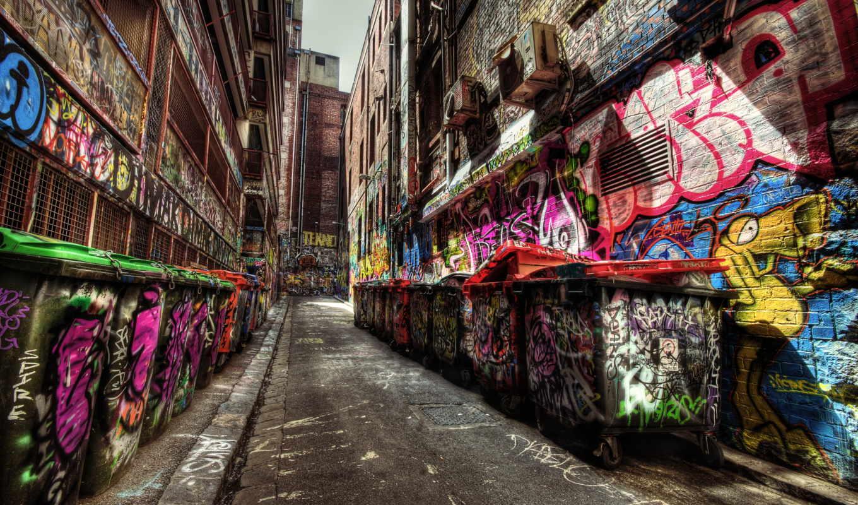 graffiti, hdr, attack, mayonzz, art,