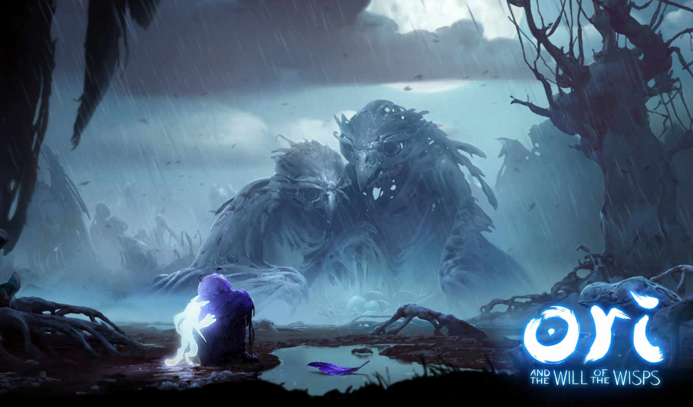 ori, will, wisps, xbox, one, games, скриншоты, игры,