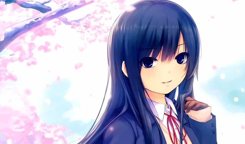 coffee, kizoku, девушка, anime, изображение, android, Сакура,