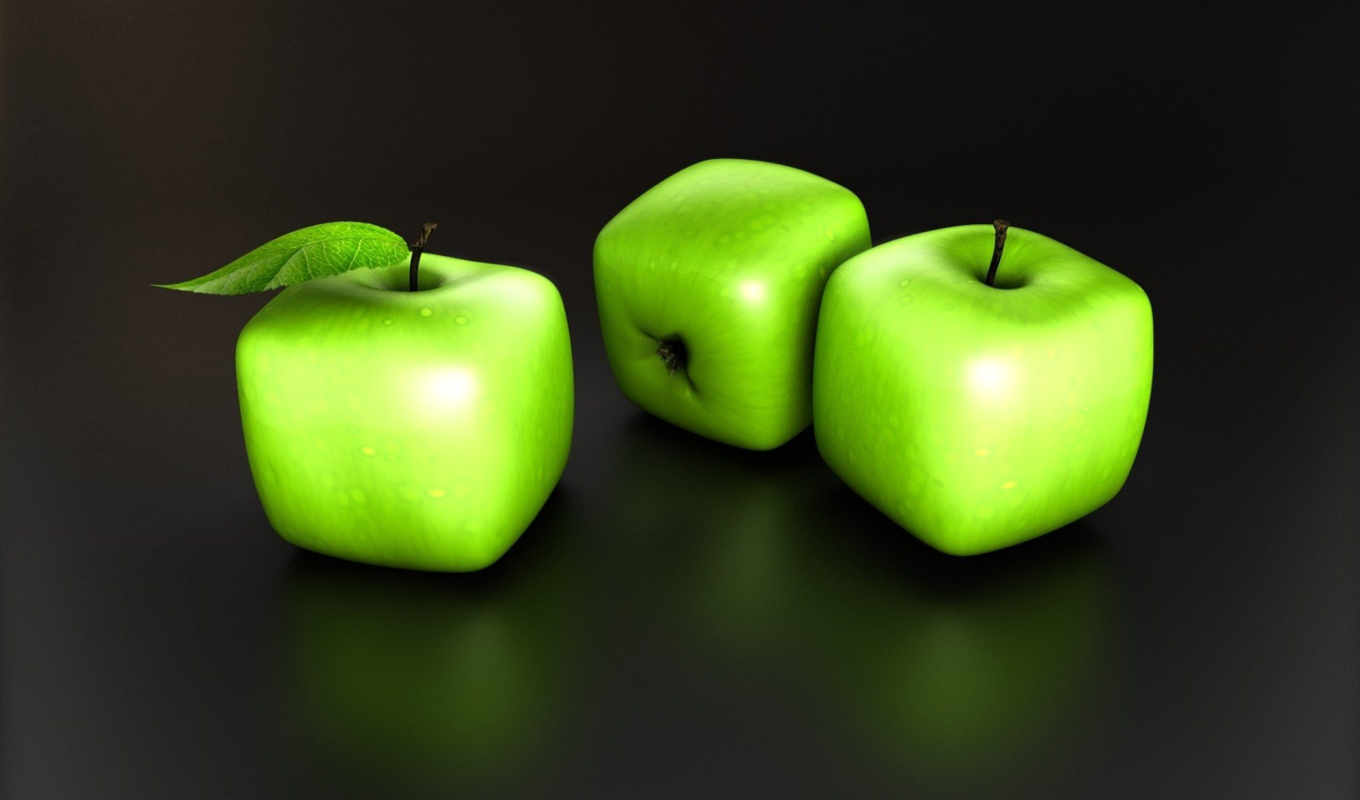 desktop, apple, from, abstract, home, download, green, view, photoshop, food, cubes, الصورة, apples,