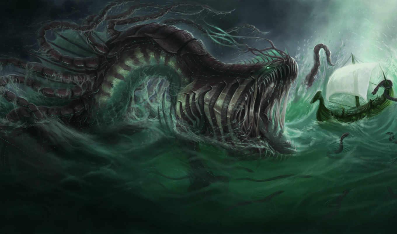 creature, ужасы, monster,