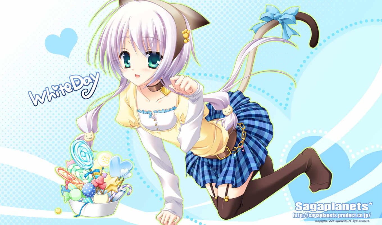 gold, kisaragi, eyes, hair, star, anime, kuon, similar, mika,