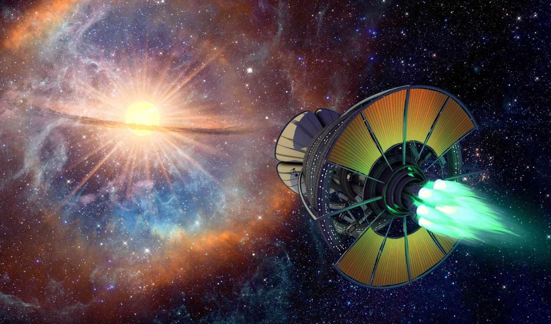 фэнтези, космос, корабли, техника, звезды, планеты,
