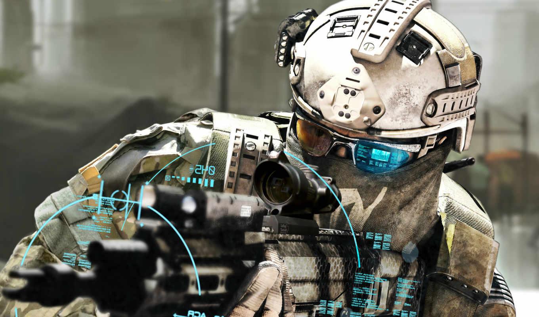recon, ghost, будущее, солдат,
