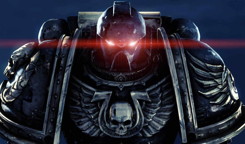warhammer, space, обои, космодесант, marines, ultr
