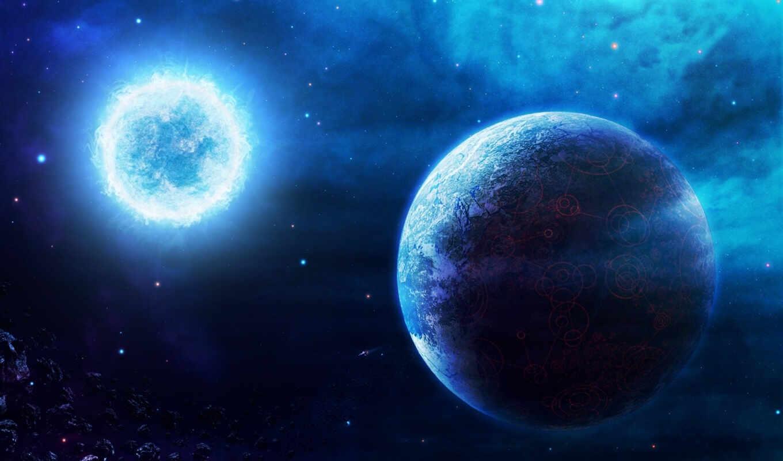 сириус, космос, звезда, планета,