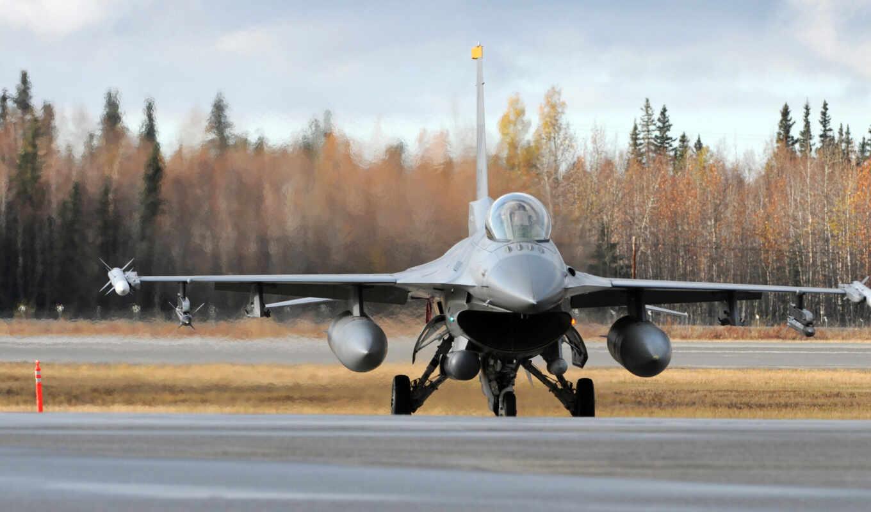самолёт, falcon, ввс, fighting, usa, воздушной, базы, misawa, авиация, самолеты, япония,